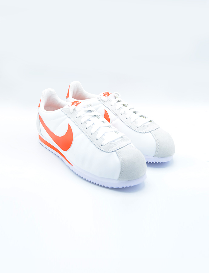 low priced f4f7b 0442a Nike Classic Cortez Nylon – White   Double5