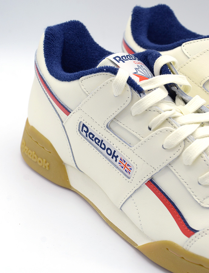 Reebok Workout Plus classic whitenavyred ab 70,00